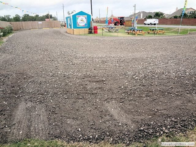 Crushed Concrete Or Rock Parking Lots Houston Conroe